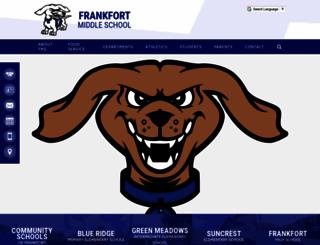 fms.frankfortschools.org screenshot