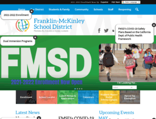 fmsd.org screenshot