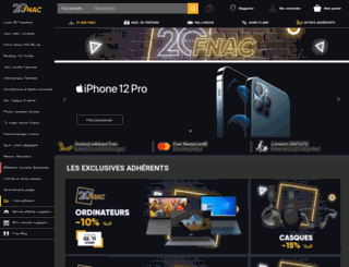fnac.ch screenshot