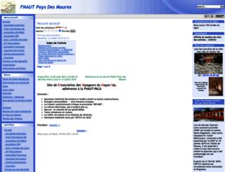 fnautpaysmaures.com screenshot