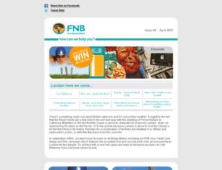 fnbcommunication.co.za screenshot