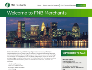 fnbmerchants.com screenshot
