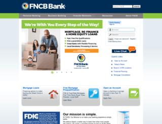 fncbonline2.com screenshot