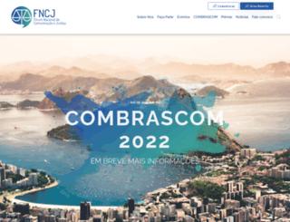 fncj.org.br screenshot