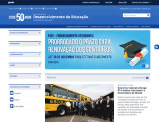 fnde.gov.br screenshot