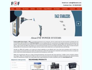 fnfpowers.com screenshot