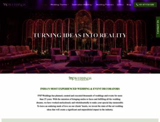 fnpweddings.com screenshot