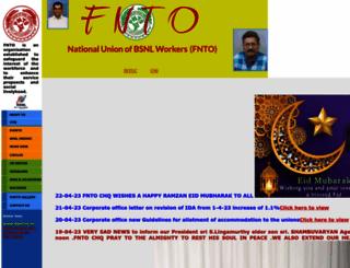 fnto.org screenshot