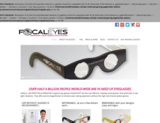 focaleyes.com screenshot
