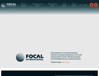 focalint.org screenshot