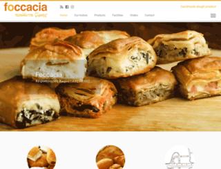 foccacia.gr screenshot