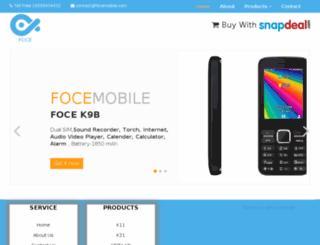 focemobile.com screenshot