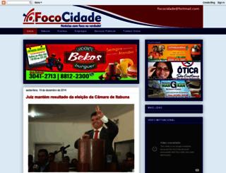 fococidade.blogspot.com.br screenshot