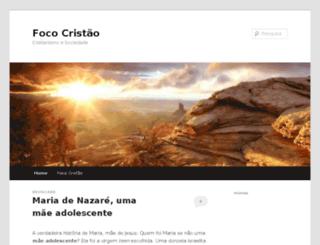 fococristao.wordpress.com screenshot