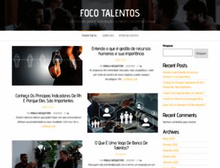 focotalentos.com.br screenshot