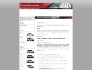 focus-cars.co.uk screenshot