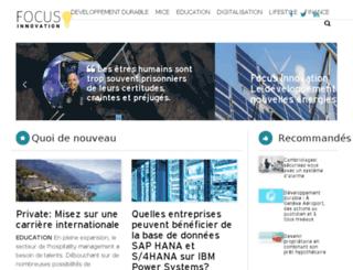 focus-innovation.ch screenshot
