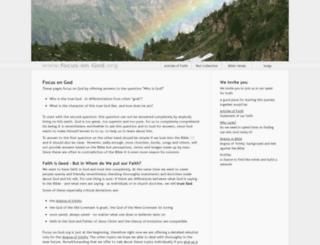 focus-on-god.org screenshot