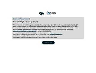 focus-on-training.co.uk screenshot
