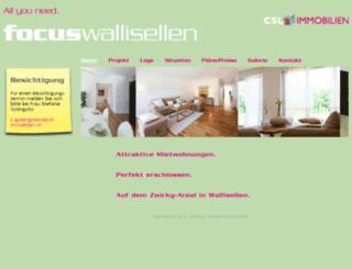 focus-wallisellen.ch screenshot