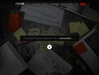focus.customerdevlabs.com screenshot
