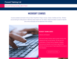 focus4training.com screenshot