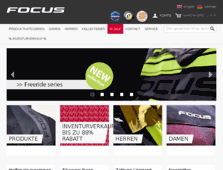 focusbikewear.com screenshot
