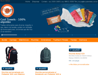 focusbrindes.com.br screenshot