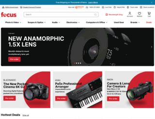 focuscamera.com screenshot