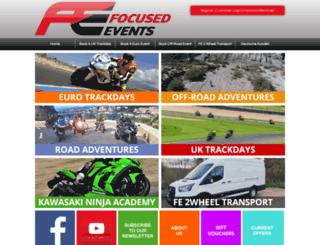 focusedevents.com screenshot