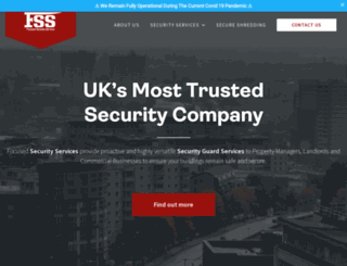 focusedsecurity.co.uk screenshot