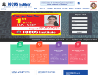 focusinstitutechd.com screenshot