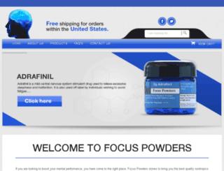 focuspowders.com screenshot