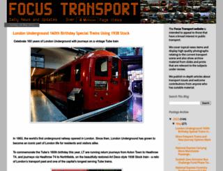 focustransport2011.blogspot.co.uk screenshot