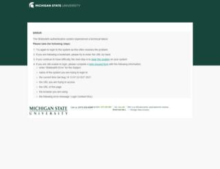 fod.msu.edu screenshot