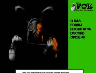 foe.org.pl screenshot