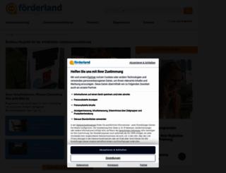 foerderland.de screenshot