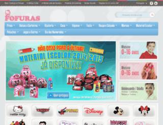 fofuras.com.pt screenshot