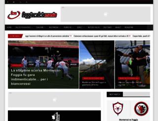 foggiacalciomania.com screenshot