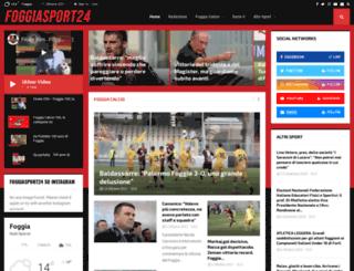 foggiasport24.com screenshot