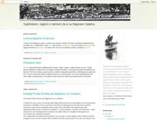 foglididiario.blogspot.com screenshot