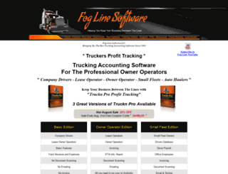 foglinesoftware.com screenshot