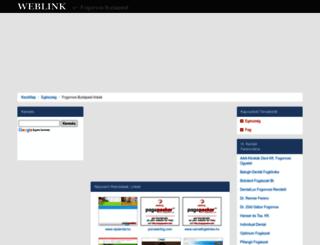 fogorvos-budapest.weblink.hu screenshot