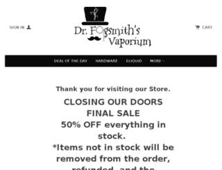 fogsmithsvaporium.com screenshot