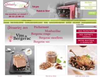 foiegrasmonpazier.com screenshot