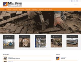 fokker-oomen.nl screenshot