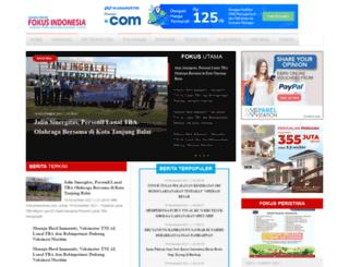 fokusindonesia.com screenshot