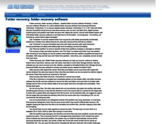 folder-recovery.aidfile.com screenshot