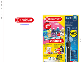 folder.kruidvat.be screenshot
