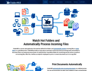 foldermill.com screenshot